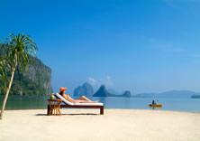 Sunbathing - Pangulasian Resort Palawan