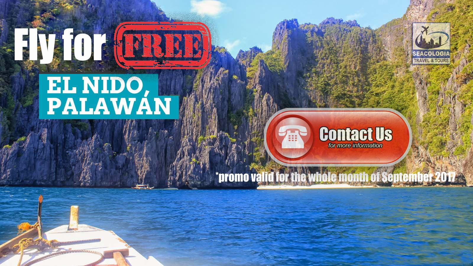 El Nido Palawan- Free Fly Promo